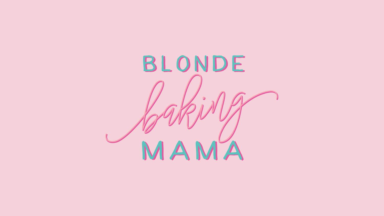 Blonde Baking Mama - Business Branding Portfolio - Perth WA
