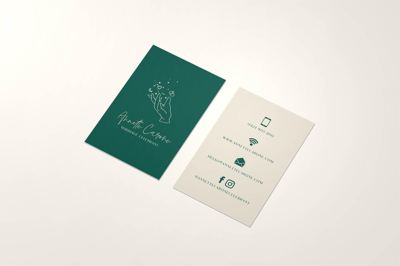 Business Branding - Annette Carone, Marriage Celebrant - Perth WA