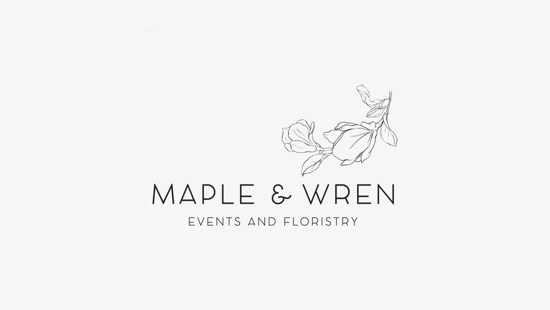 Business branding portfolio for Maple and Wren, Perth WA