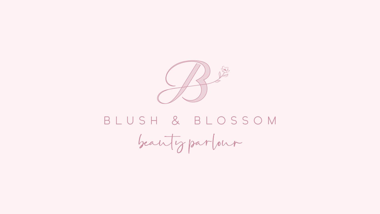 Blush and Blossom Beauty, Rebranding Portfolio - Perth WA