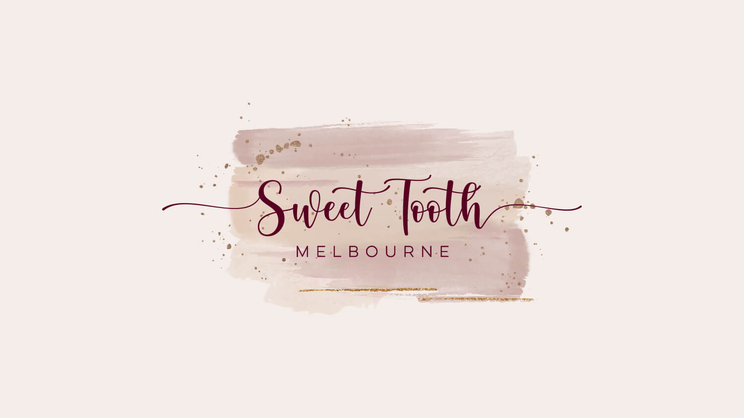 Business branding for Sweet Tooth, Melbourne Vic